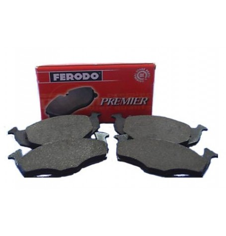 Pastiglie per freni FERODO FDB1652  - FIAT PANDA 03 MULTIJET-NATURAL POWER