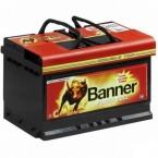 Power  BULL 62 Ah / 510A BANNER BATTERIEN -P6205.Polo pos dx. Confezione da 2 pezzi.